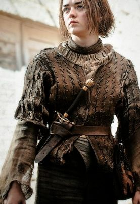 Maisie Williams aka Arya Stark #GameOfThrones
