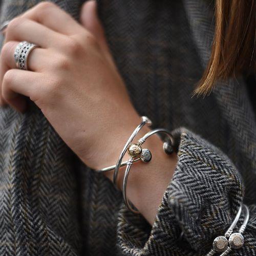 Pandora Moments Bangle - FINAL SALE | Pandora bracelet designs ...