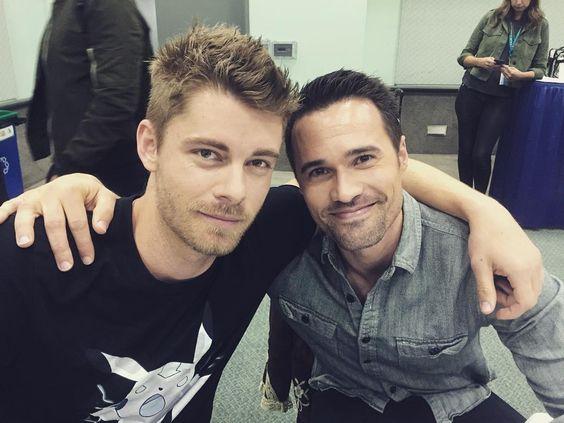 Luke and Brett