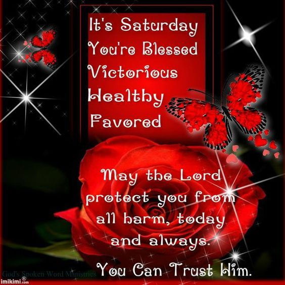 It's Saturday.. You're Blessed..