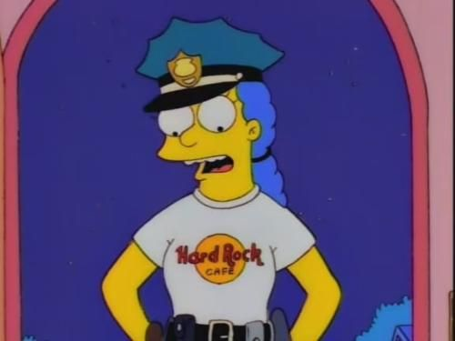 The springfield connection home tvs and the o 39 jays - Police simpsons ...