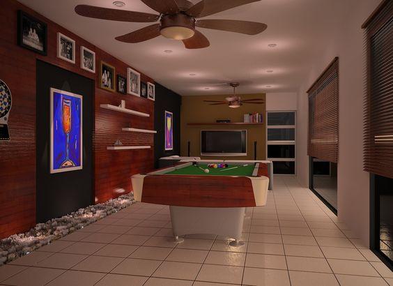 cuarto de juegos iluminacin clida