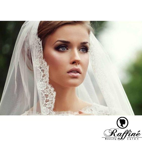 Such classic, simple and elegant wedding makeup!    #wedding #bride #classic #elegant