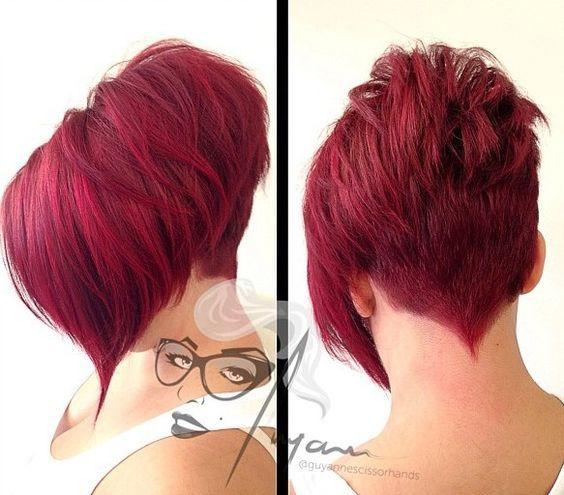 25++ Kurze rote frisuren Ideen