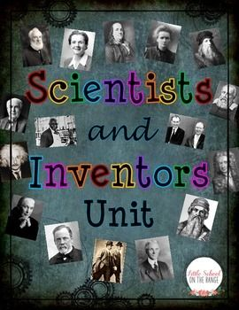 This unit is perfect for introducing scientists and inventors to your students! This unit gives key information on those listed below and contains several activities designed to reinforce and assess students' knowledge of these scientists and inventors.This unit contains:Fact Cards for the following:oAlexander Graham BelloRachel CarsonoGeorge Washington CarveroJames Watson and Francis CrickoMarie CurieoLeonardo da VincioThomas EdisonoAlbert EinsteinoBenjamin FranklinoGalileo GalileioJane ...