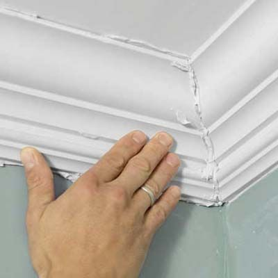 How To Install Easy Crown Molding The Two Mom And House