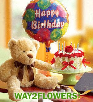 Online Birthday Gifts from Way2flowers