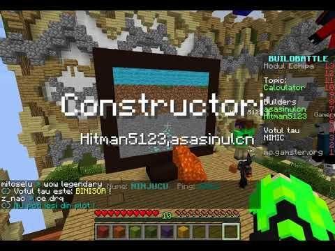 Build Battle Server Address For Minecraft Pc Minecraft Map