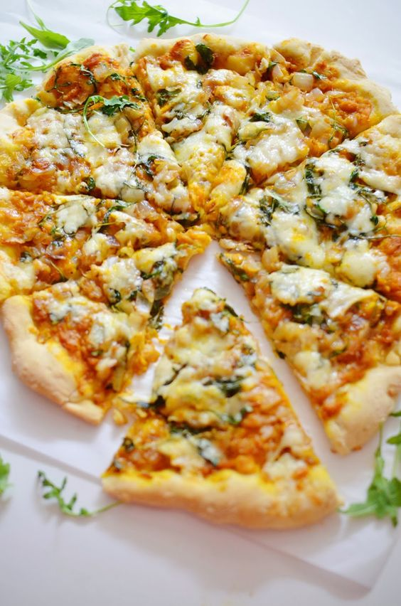 Savory Pumpkin Pizza | Love Lola: