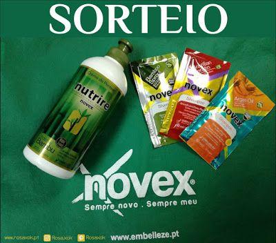 RosaXok: SORTEIO - Embelleze Creme de Pentear Broto de Bamb...