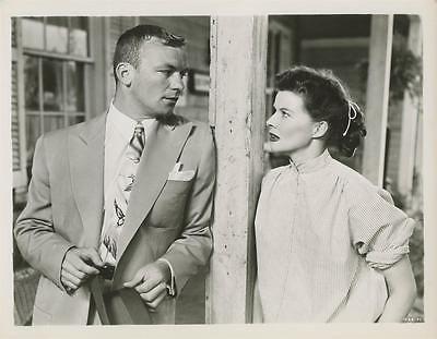 Katharine Hepburn, Aldo Ray  PAT AND MIKE 1952 Vintage Movie Photo 9251
