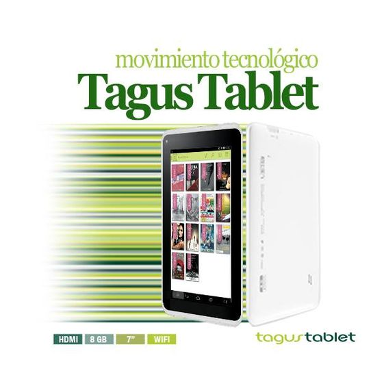 ¿Aún no te has pasado al mundo digital? ¡Es el momento de dar el salto! Pide ya la nueva #TagusTablet por sólo 79,90€ o #PideQueTeLoRegalen. ¡Oh yeah!