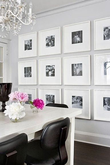 ikea...ribba frames | Ikea Hacks | Pinterest | Photo gallery walls ...
