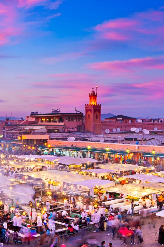 Marrakech, Morocco is the number one city to visit in 2015