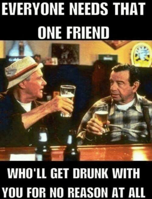 Get that man a beer meme