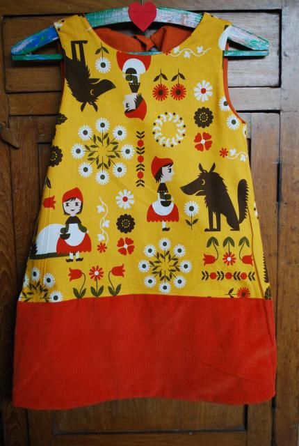 - Naaien: het omkeerbare kleed & hoe zelf een patroon tekenen