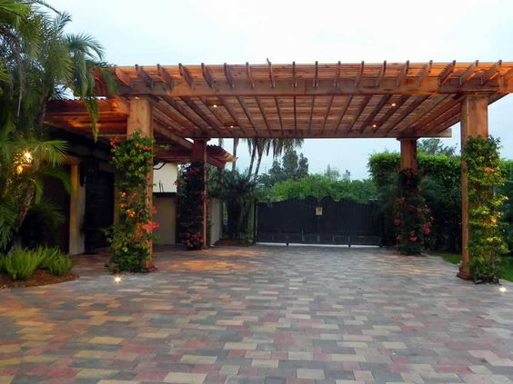 pergola not driveway pergola covered parking driveway pinterest the o 39 jays love and. Black Bedroom Furniture Sets. Home Design Ideas
