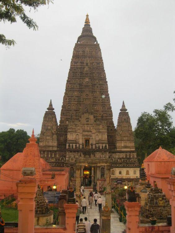 Maha Bodhi Temple, Bodhgaya, Bihar, India