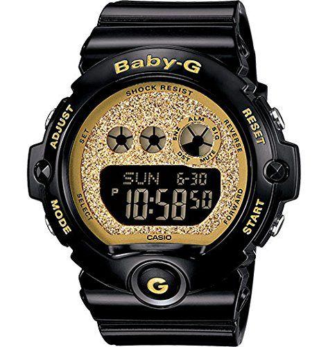 G-Shock BG6900SG-1 Baby-G Series Stylish Watch - Black/Gold / One Size Casio http://smile.amazon.com/dp/B00MR4EI64/ref=cm_sw_r_pi_dp_ExrEvb09CR3J3