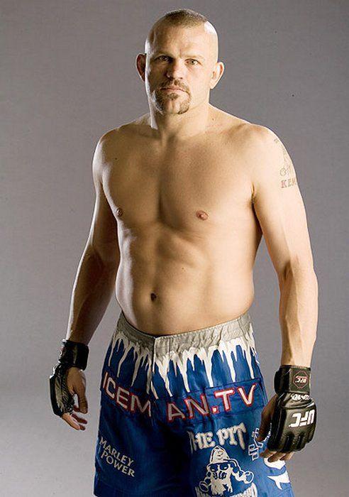 UFC Fighter Chuck Liddell. BITCH !!