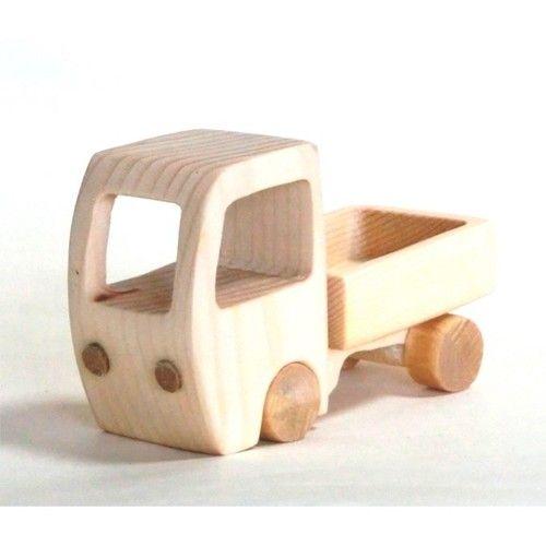 木のおもちゃ はたらく車 ミキサー車 木のおもちゃ おもちゃ 木材