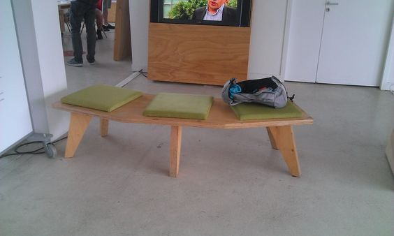 woodply bench from Nantes