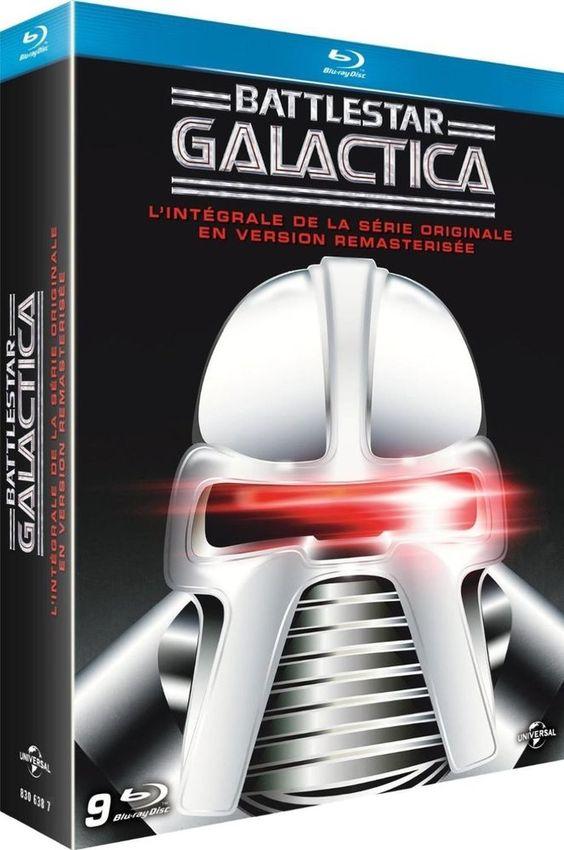 Battlestar Galactica - L intégrale de la série originale - BLU-RAY NEUF