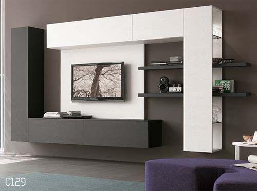 Mobili Tv Moderni Ikea. Stunning Parete Attrezzata Porta Tv Moderna ...