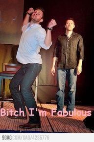 haha so funny #Jensen Ackles