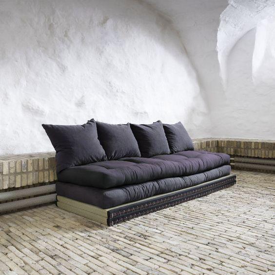 Divano letto chico sofa karup con tatami e futon futon e for Divano letto futon