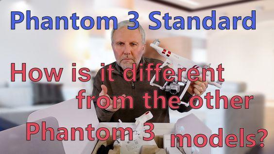 DJI Phantom 3 Standard -- How is it different? - http://zerodriftmedia.com/dji-phantom-3-standard-how-is-it-different/