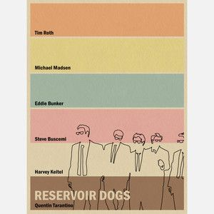 Reservoir Dogs Inspired18x24 now featured on Fab.
