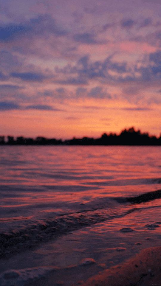 Pin By Mya On W A L L P A P E R S Sunset Gif Sunset Wallpaper Sky Aesthetic Live wallpaper iphone aesthetic gif