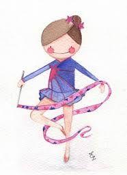 dibujos gimnasia ritmica infantil - Cerca amb Google | Esports ...
