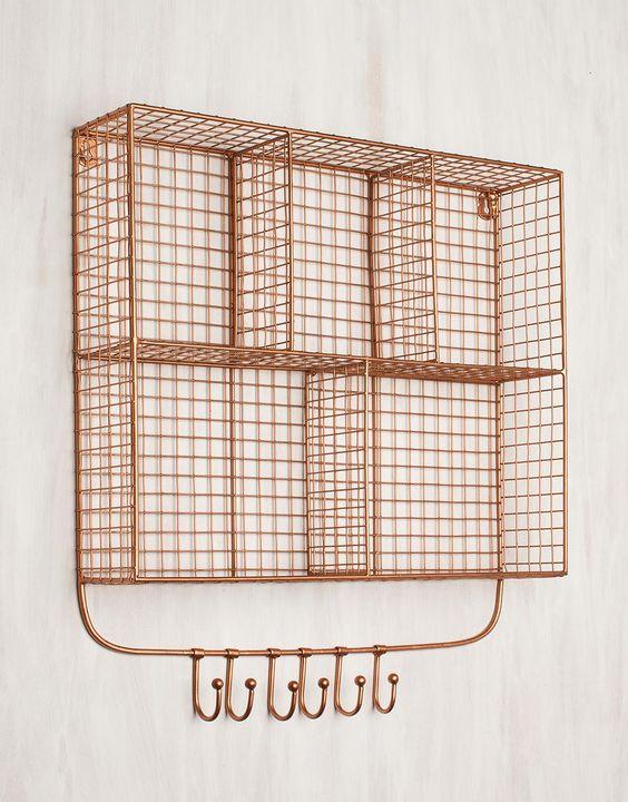 Mesh, Rack shelf and Shelves on Pinterest