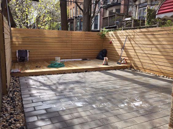 Horizontal Fence Ideas...