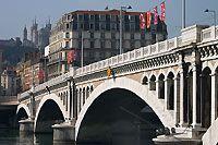 Les Quais de Rhône -- Lyon (69), France -- photoenligne.free.fr