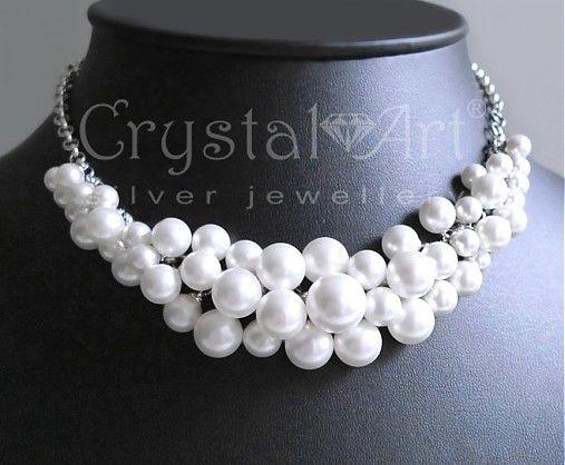 CrystalArtJewellery / Pearl Shock