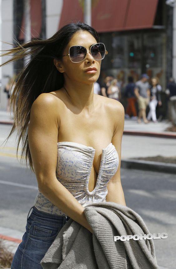 Nicole Scherzinger in sunglasses #sunglasses #shades
