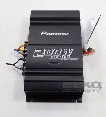 Pioneer GM-3000T 200W 2 Channel Amplifier Amp LKQ