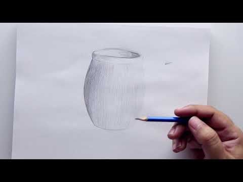 Draw A Simple Pot With A Pencil Pencil Drawings Simple