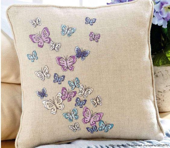 Cross-stitch Butterflies, part 1