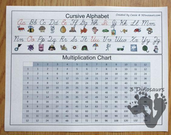 Managing Homework Ideas & Free Homework Punch Cards & Free Desk Help for Third Grade - 3Dinosaurs.com