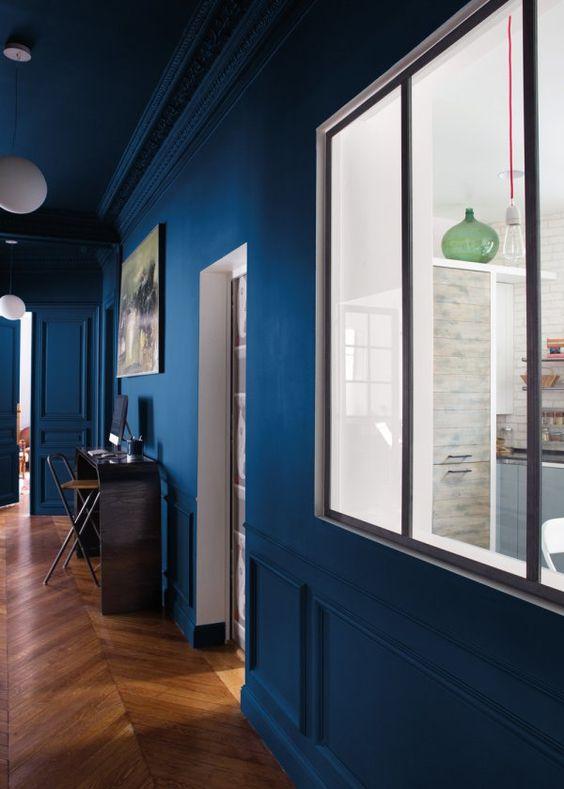 tollens d voile ses collections chez castorama fils bleu et marie claire. Black Bedroom Furniture Sets. Home Design Ideas