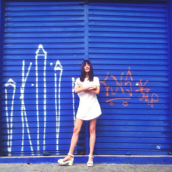 """""""Que tipo de pessoa picha um portão azul cobalto de um prédio todo azul cobalto chamado edifício da vovó e do vovô, sabe?!"""""""