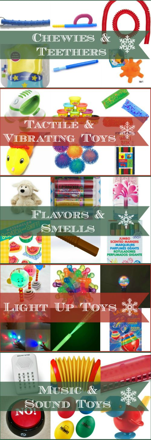 30 small multi-sensory toys that are perfect for kids who are blind, deafblind, autistic or have a sensory processing disorder (SPD).