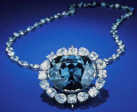 The Hope Diamond in historic Cartier-designed setting. The Hope Diamond was formed deep within the Earth approximately 1.1 billion years ago in India, in the Kollur mine in the Guntur district of Andhra Pradesh (which at the time had been part of the Golconda kingdom). Interesting history of this one..