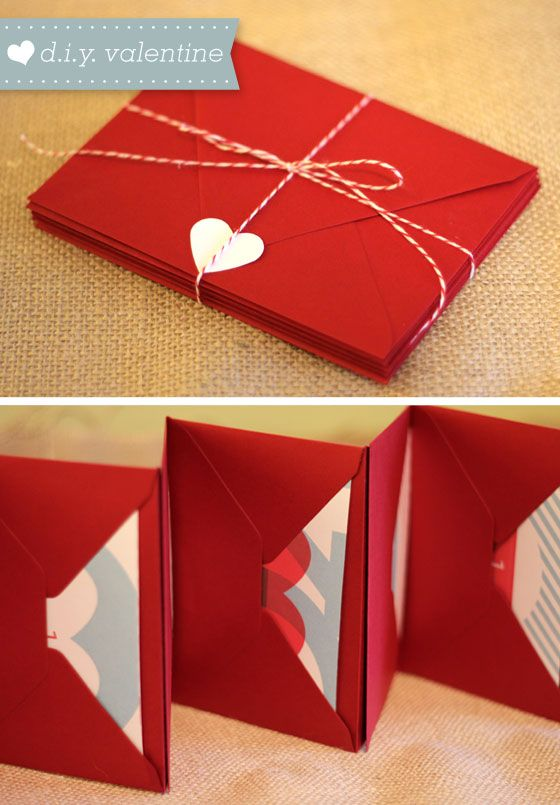 Diy envelope envelope book and homemade on pinterest for Handmade things step by step