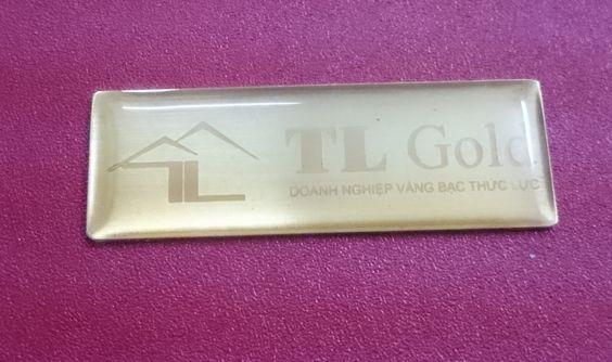 tem kim loại đồng doanh nghiệp vàng bạc thức lực