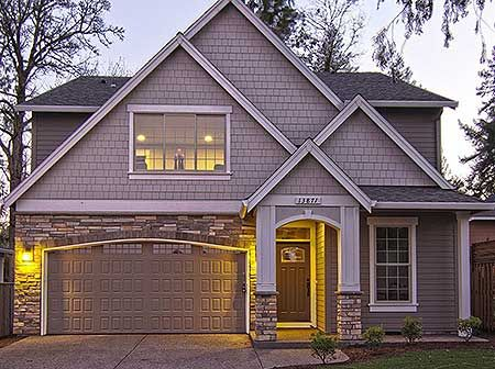 Architectural Designs Craftsman House Plan 85109MS gives you over 2,800 sq. ft. of living. Lots of photos.  Ready when you are. Where do YOU want to build?